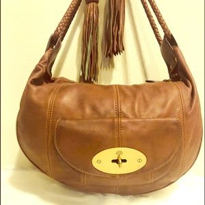 Authentic Mulberry Arlene leather hobo bag